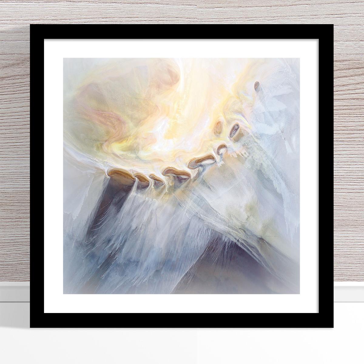 Chris Saunders - 'Aerial Salt 018' Black Frame