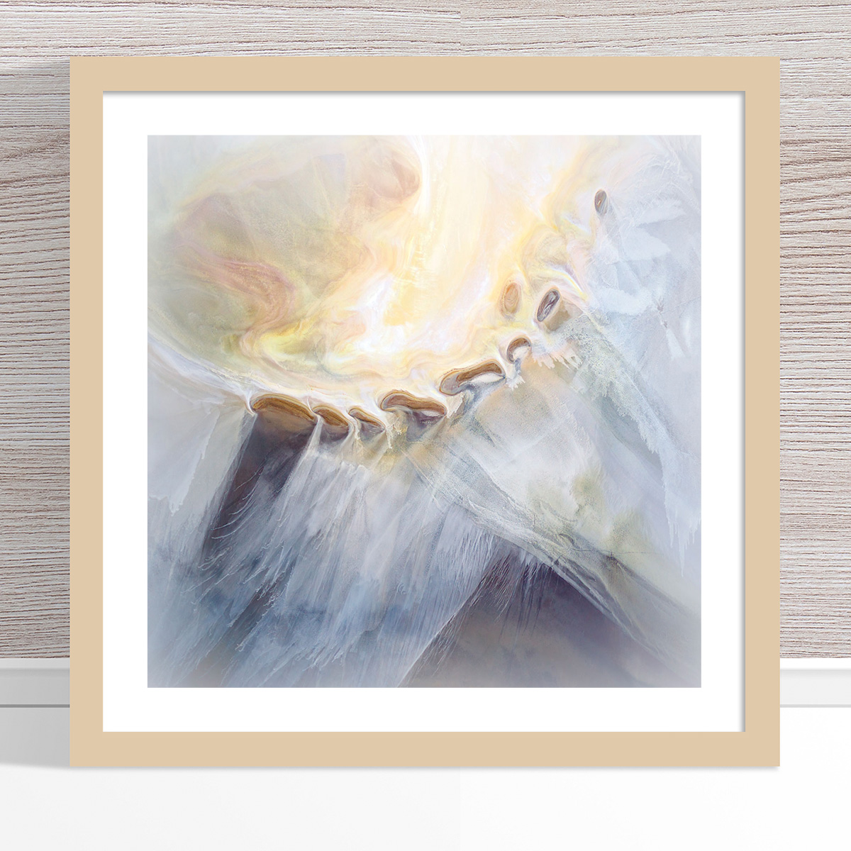 Chris Saunders - 'Aerial Salt 018' Light Frame
