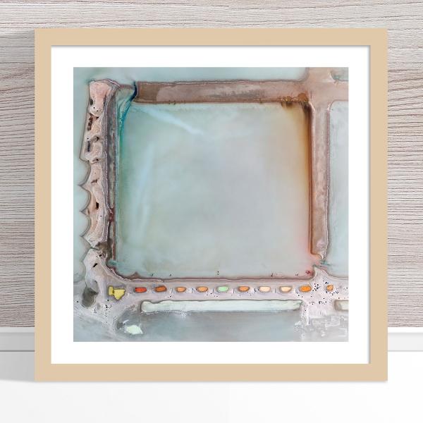 Chris Saunders - 'Aerial Salt 022' Light Frame
