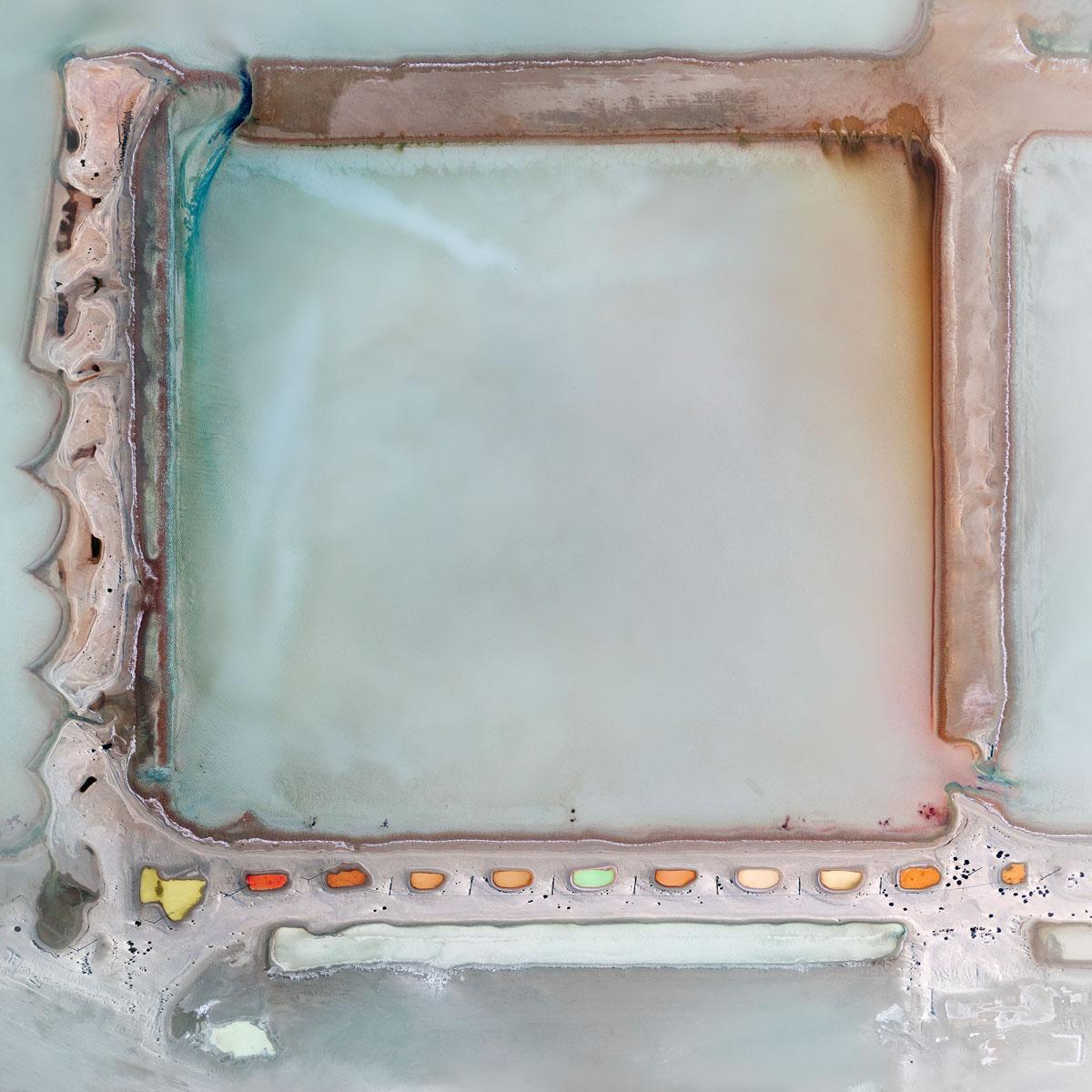 Chris Saunders - 'Aerial Salt 022'