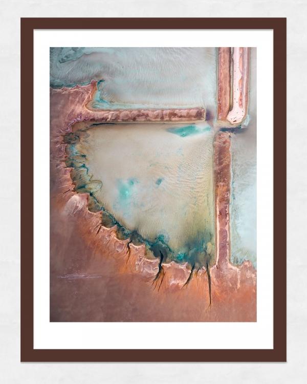 Chris Saunders - 'Aerial Salt 024' Dark Frame