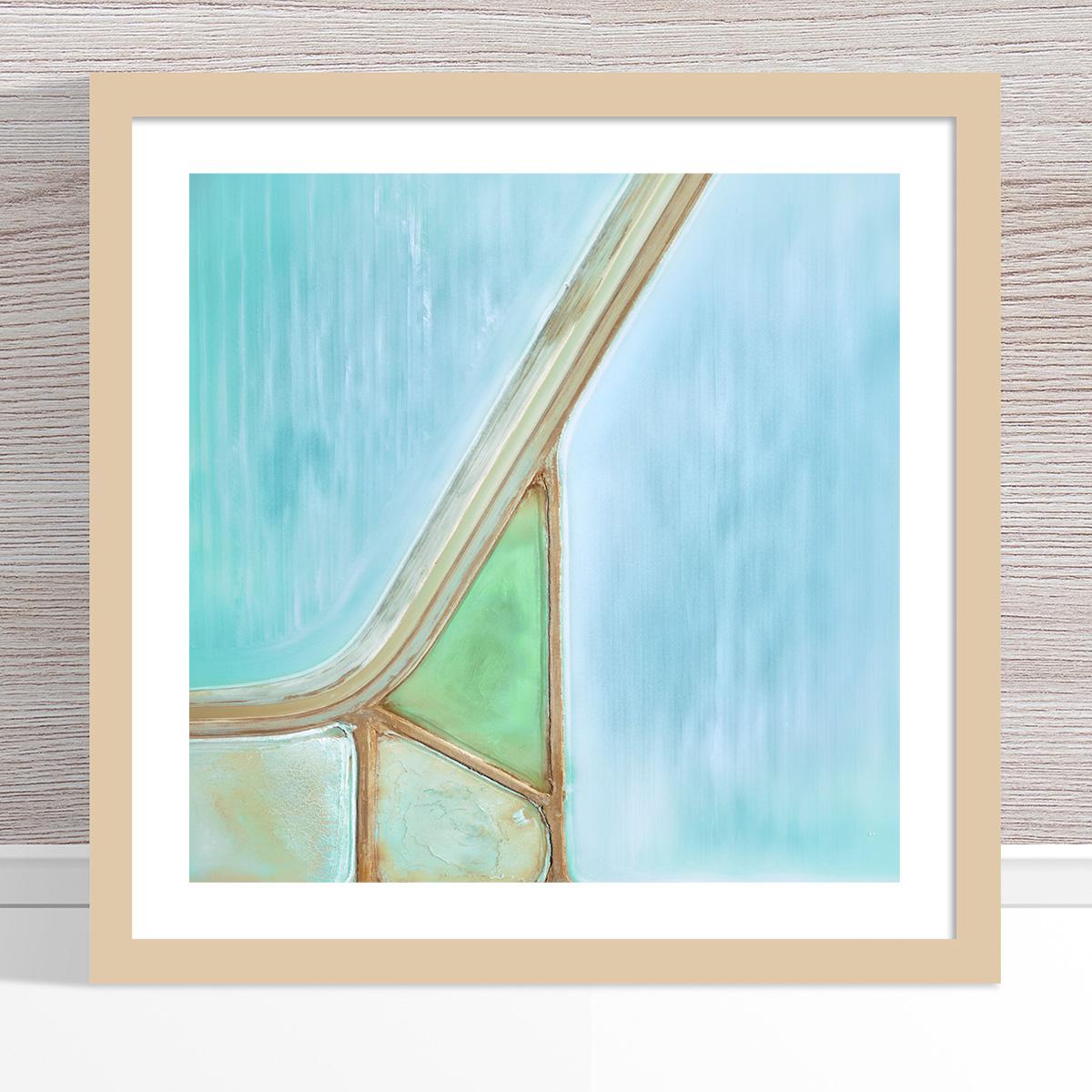 Chris Saunders - 'Aerial Salt 028' Light Frame