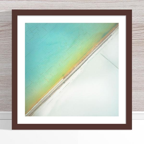 Chris Saunders - 'Aerial Salt 031' Dark Frame
