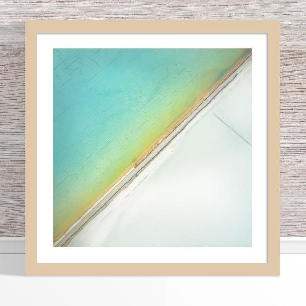 Chris Saunders - 'Aerial Salt 031' Light Frame