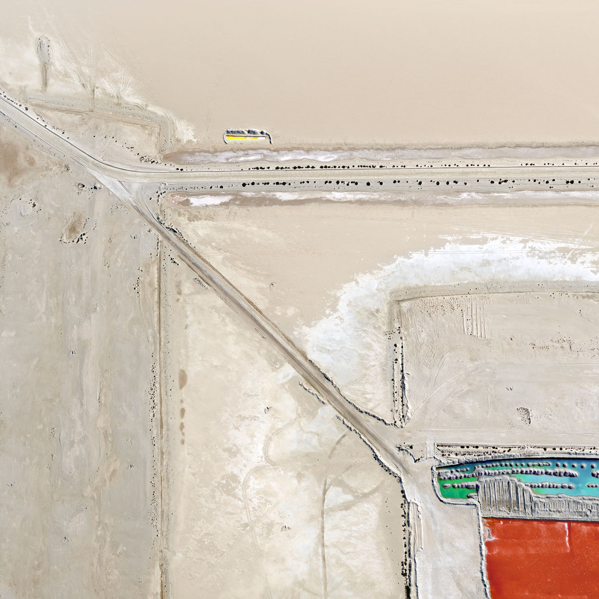 Chris Saunders - 'Aerial Salt 034'