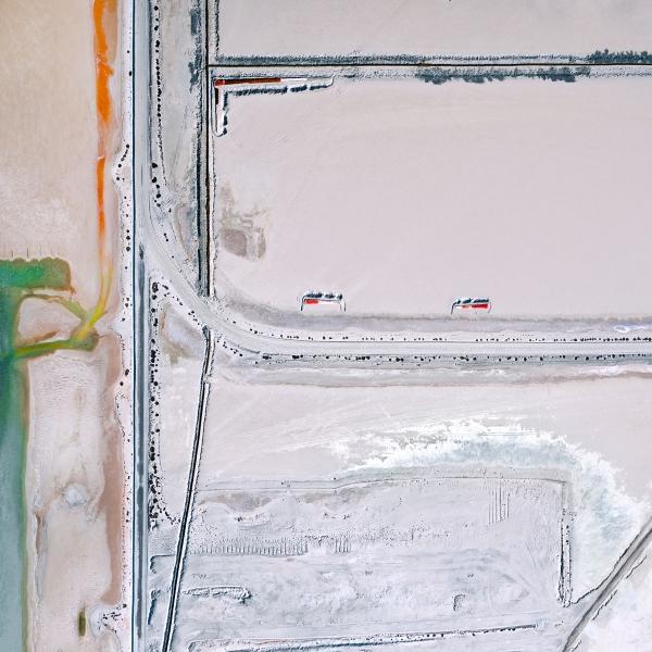 Chris Saunders - 'Aerial Salt 035'