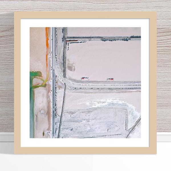 Chris Saunders - 'Aerial Salt 035' Light Frame