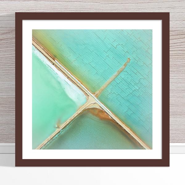 Chris Saunders - 'Aerial Salt 037' Dark Frame