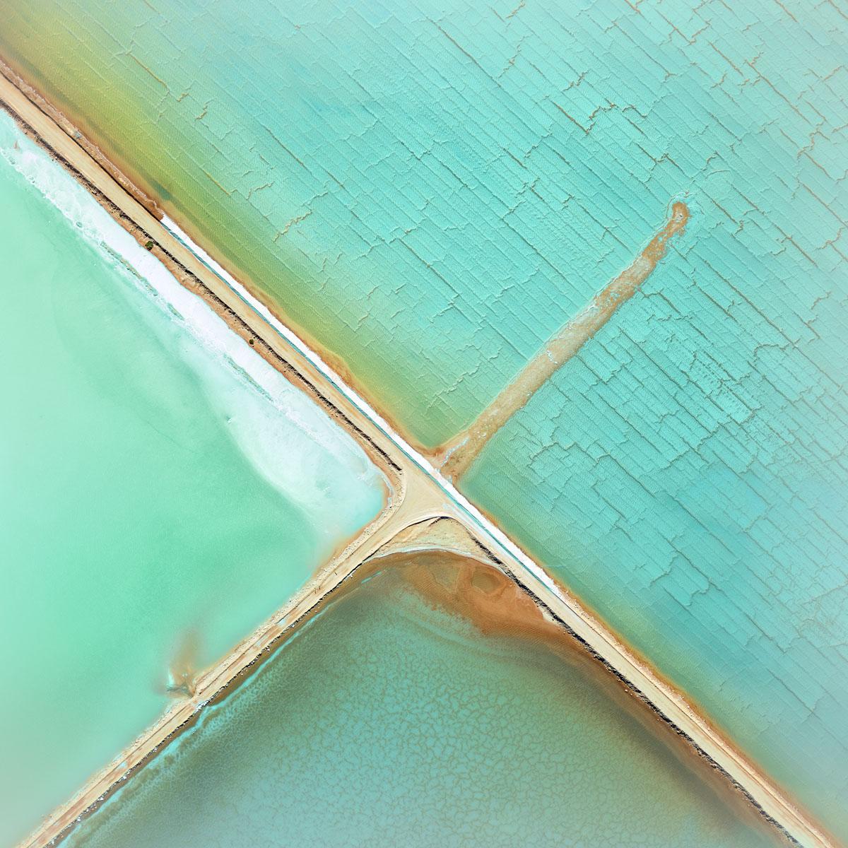 Chris Saunders - 'Aerial Salt 037'