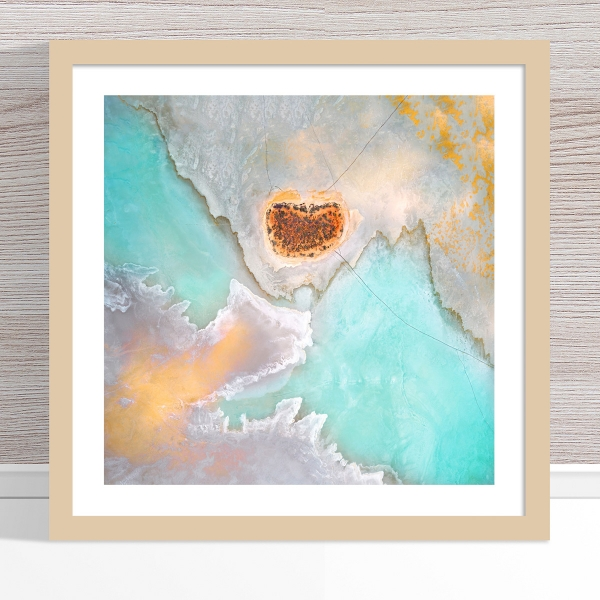 Chris Saunders - 'Aerial Salt 039' Light Frame