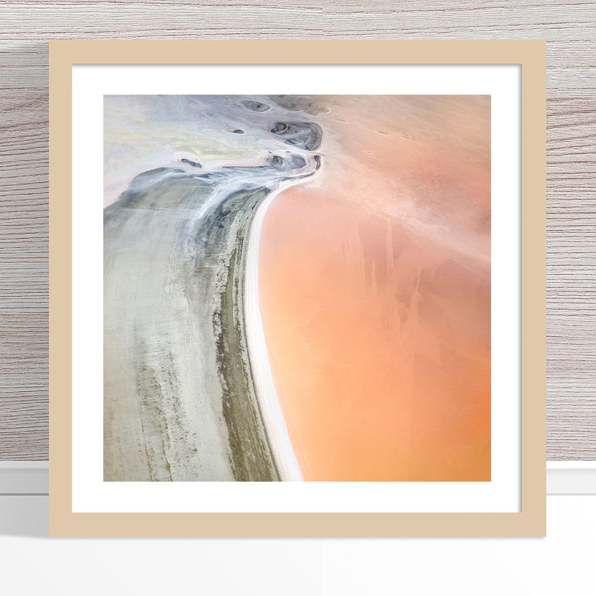 Chris Saunders - 'Aerial Salt 041' Light Frame