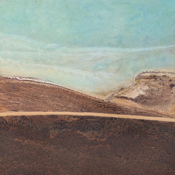 Chris Saunders - 'Aerial Salt 043'