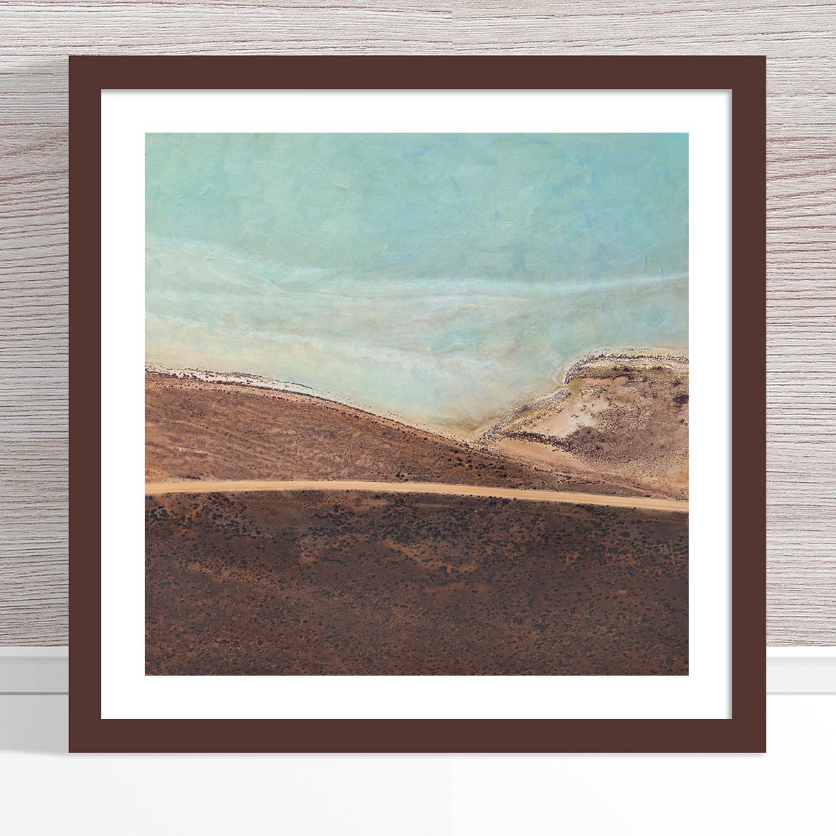 Chris Saunders - 'Aerial Salt 043' Dark Frame