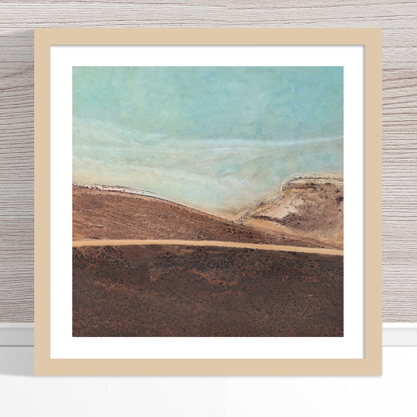 Chris Saunders - 'Aerial Salt 043' Light Frame