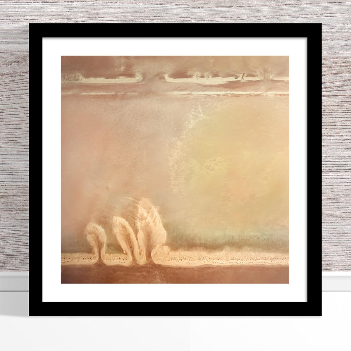 Chris Saunders - 'Aerial Salt 046' Black Frame