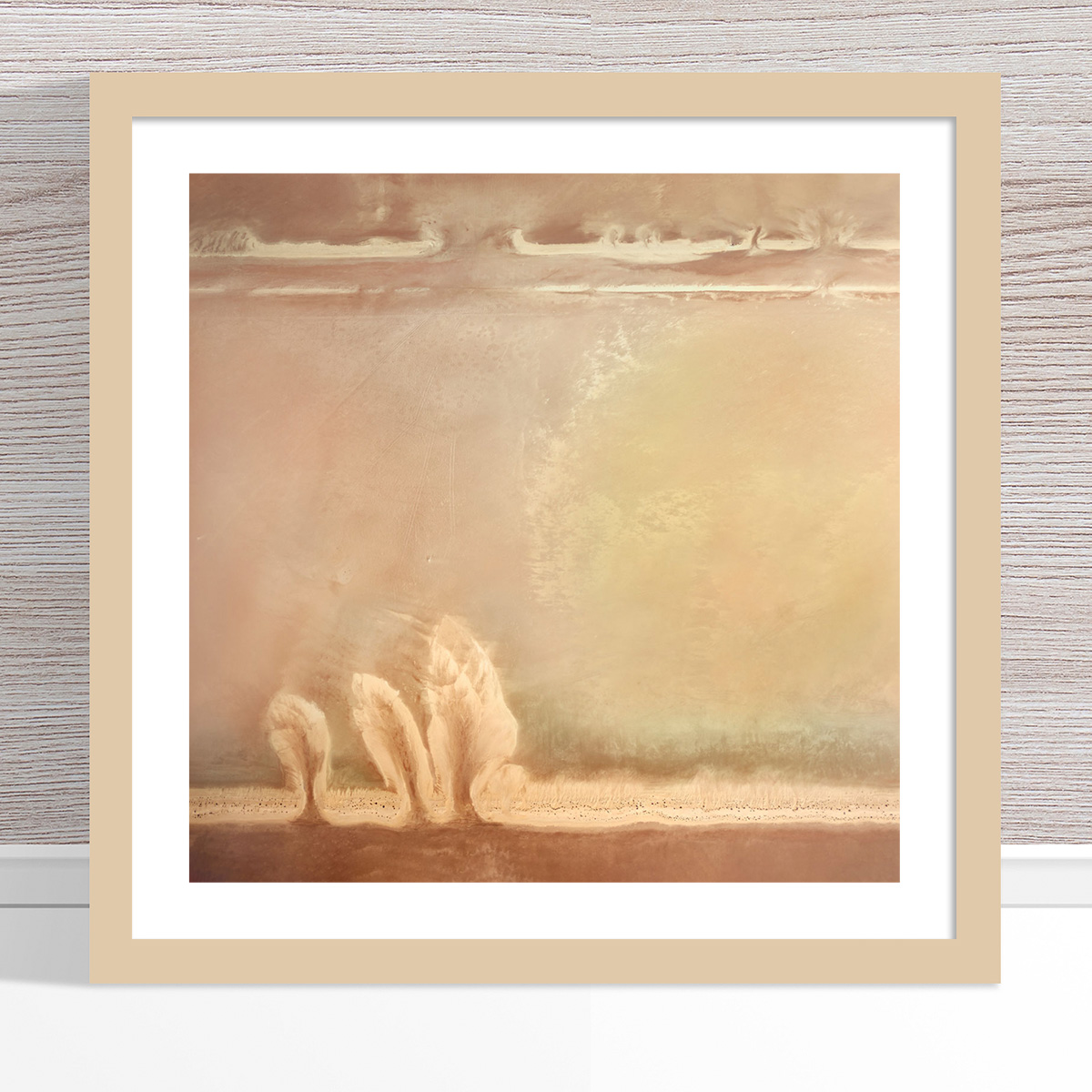 Chris Saunders - 'Aerial Salt 046' Light Frame