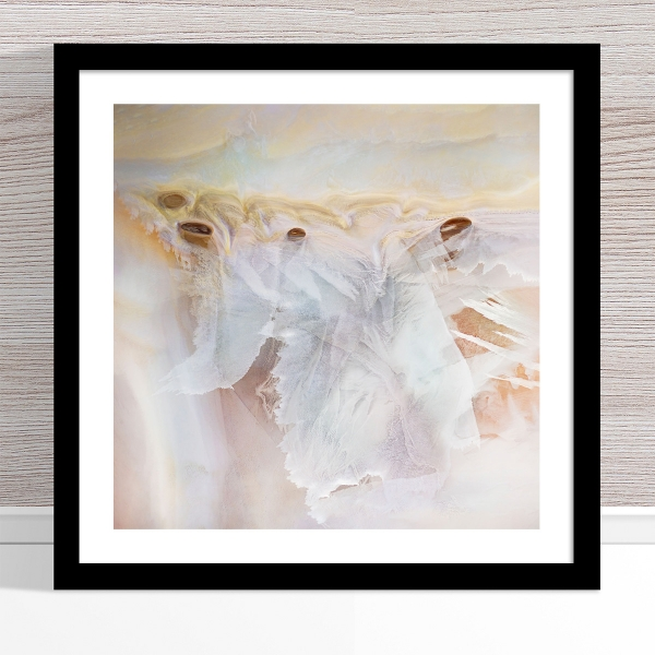 Chris Saunders - 'Aerial Salt 047' Black Frame