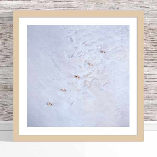 Chris Saunders - 'Aerial Salt 048' Light Frame