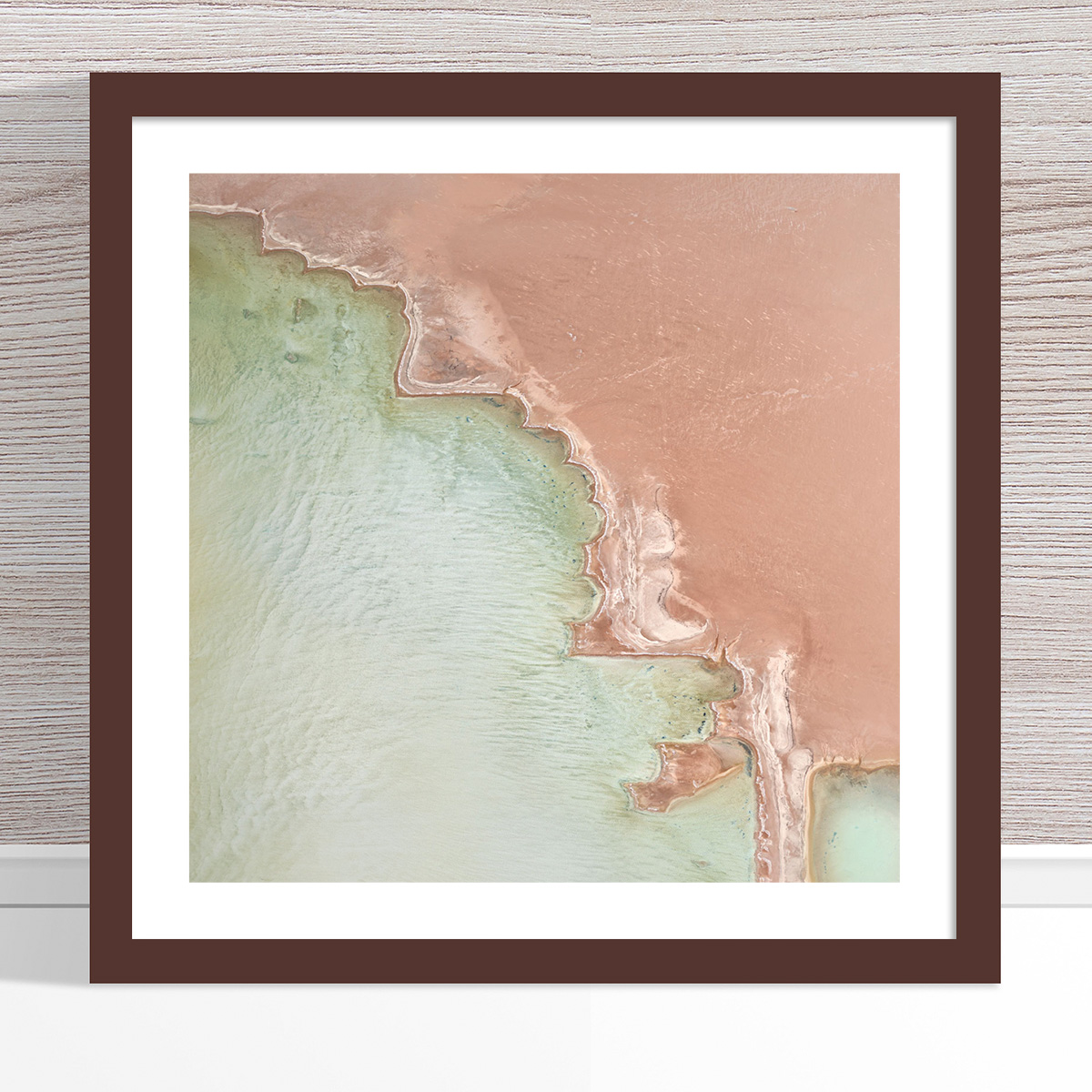 Chris Saunders - 'Aerial Salt 049' Dark Frame