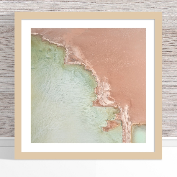 Chris Saunders - 'Aerial Salt 049' Light Frame