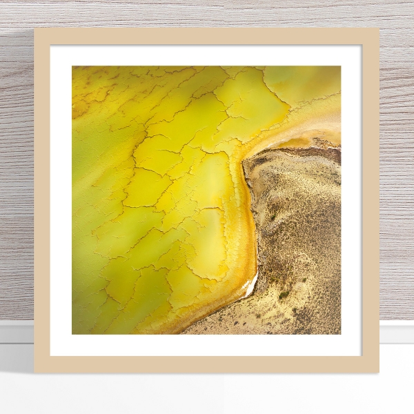 Chris Saunders - 'Aerial Salt 051' Light Frame