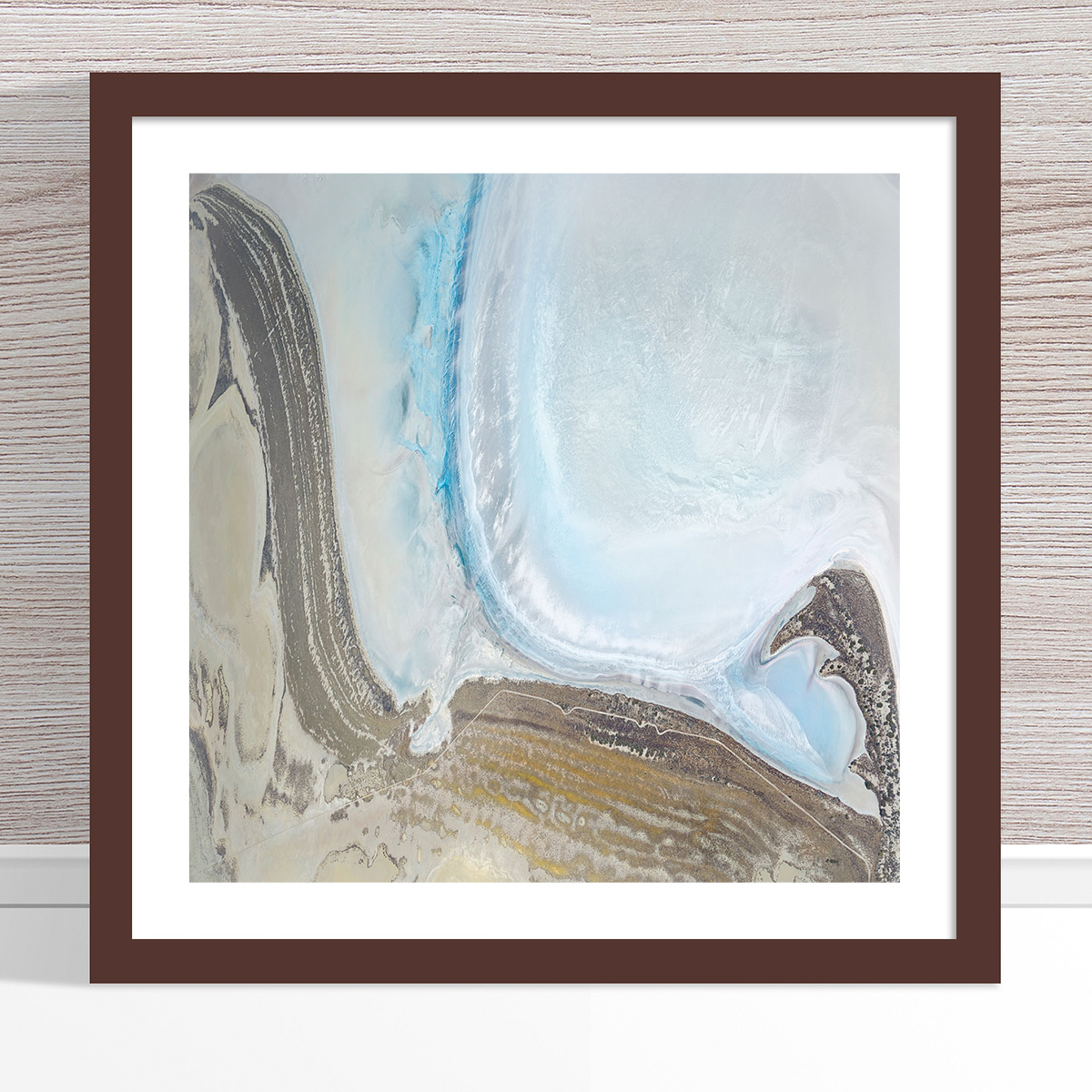 Chris Saunders - 'Aerial Salt 052' Dark Frame