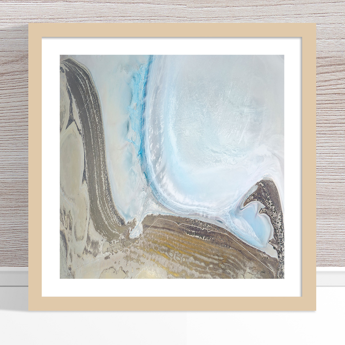 Chris Saunders - 'Aerial Salt 052' Light Frame