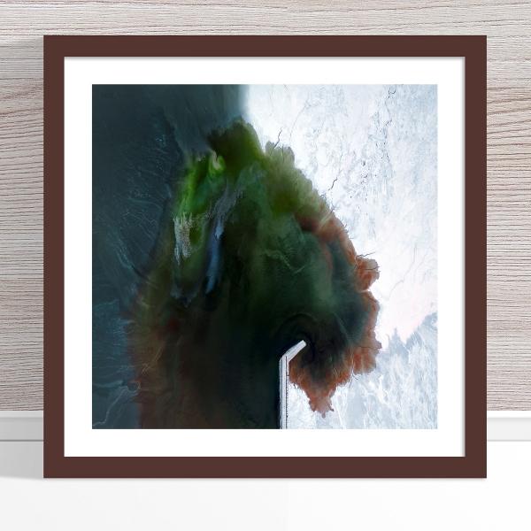 Chris Saunders - 'Aerial Salt 053' Dark Frame