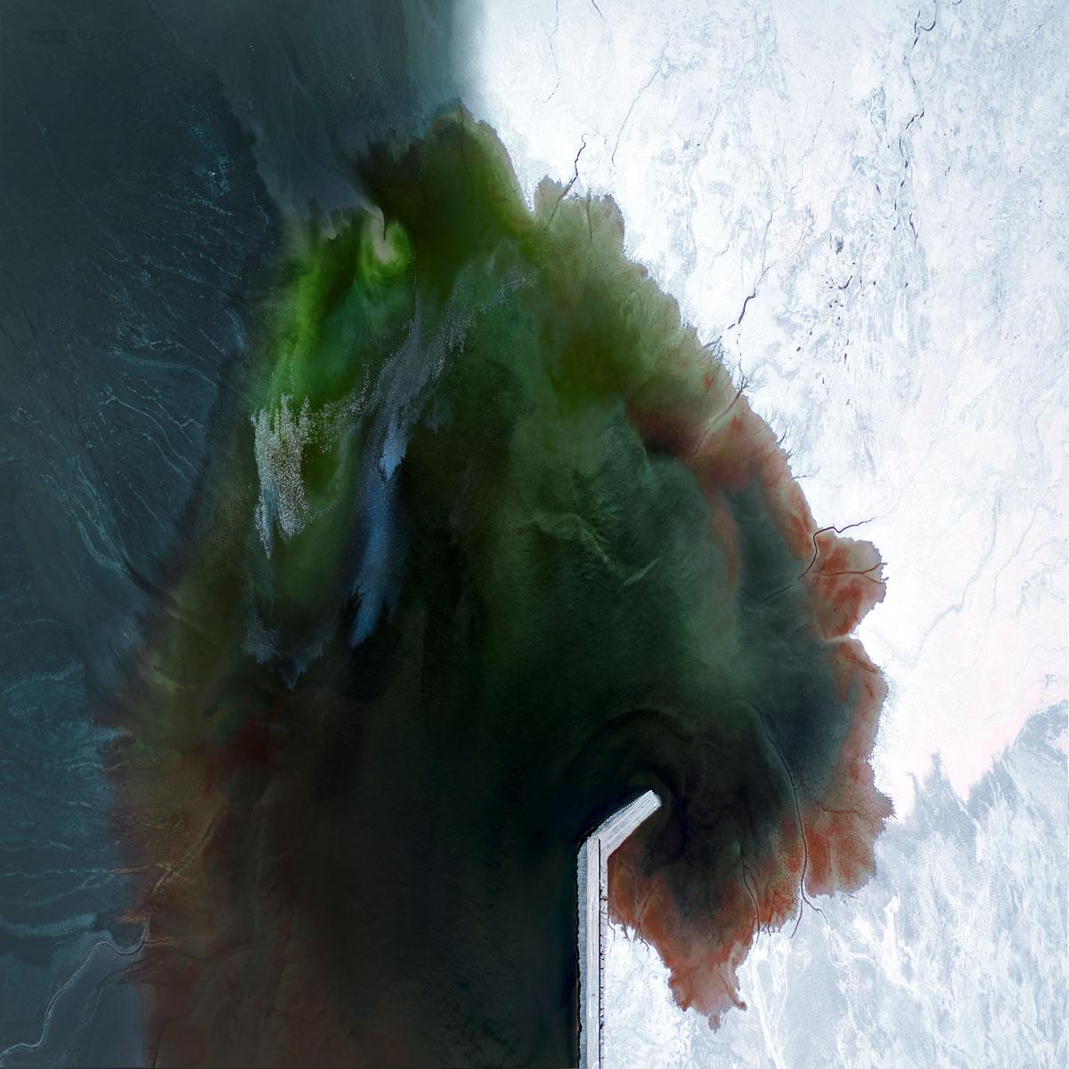 Chris Saunders - 'Aerial Salt 053'
