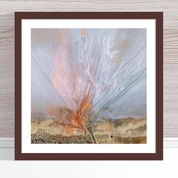 Chris Saunders - 'Aerial Salt 056' Dark Frame