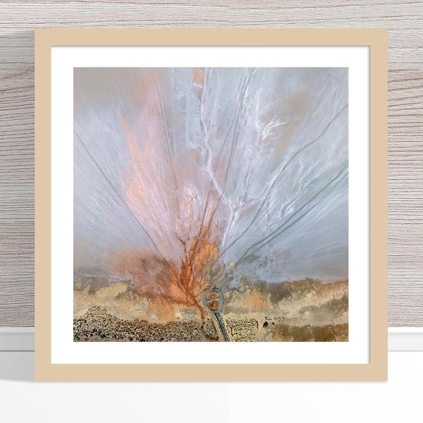 Chris Saunders - 'Aerial Salt 056' Light Frame