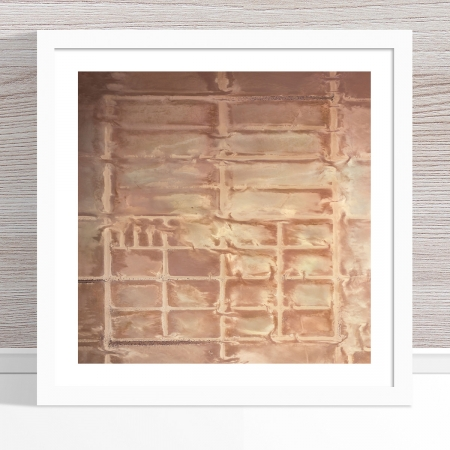 Chris Saunders - 'Aerial Salt 060' White Frame