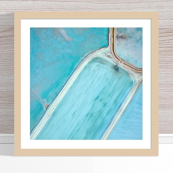 Chris Saunders - 'Aerial Salt 061' Light Frame
