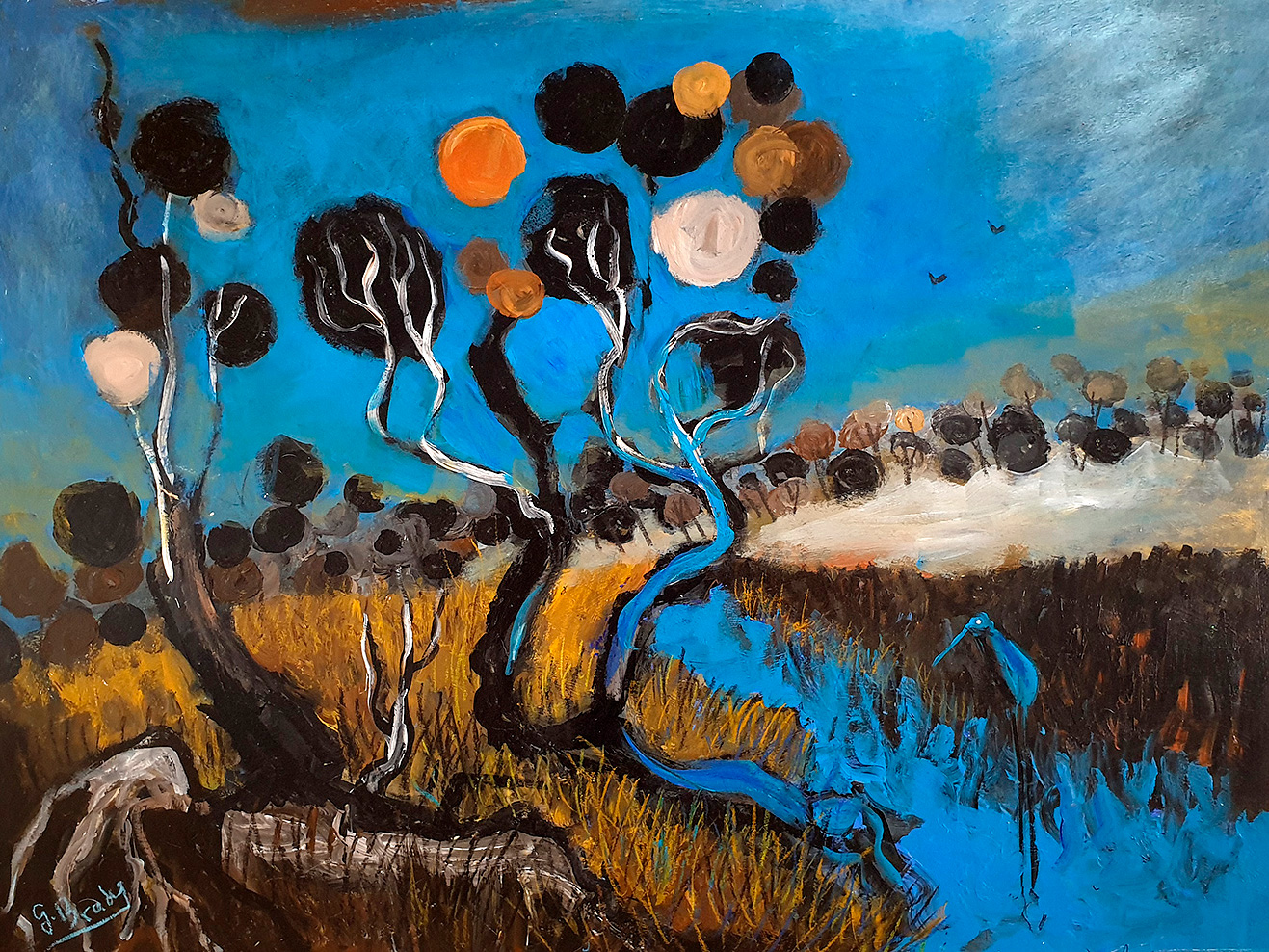 Glenn Brady - 'Circle Tree Creek'