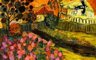 Glenn Brady - 'Front Yard Hibiscus'