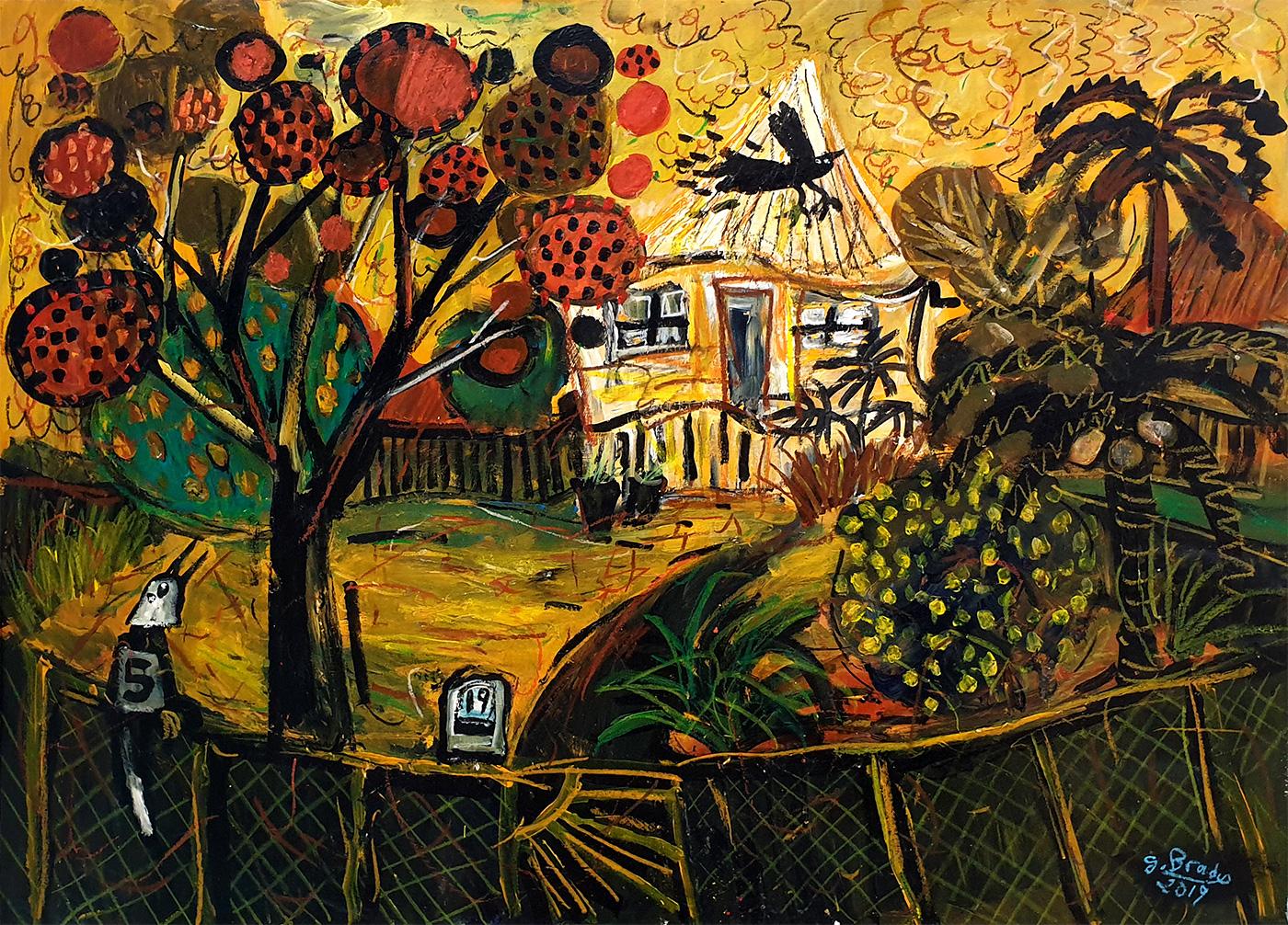 Glenn Brady - 'Front Yard, No.19'