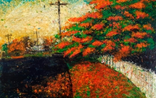 Glenn Brady - 'January Poinciana'