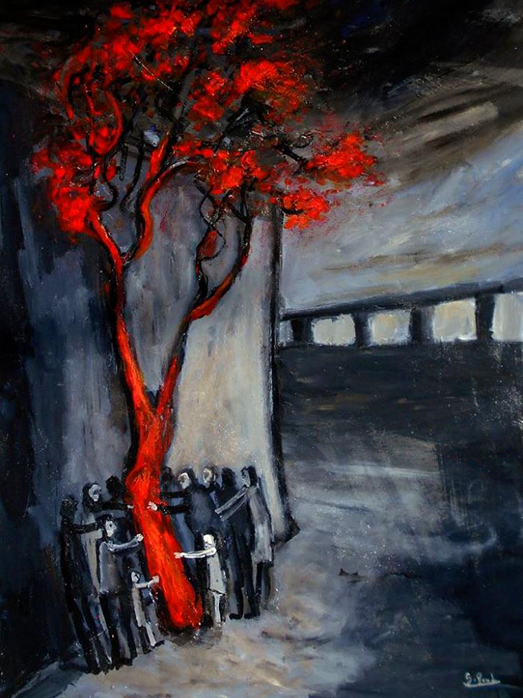 Glenn Brady - 'Around the Red Tree'