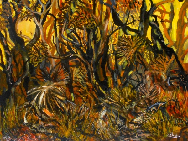 Glenn Brady - 'Australian Bush in 4 Colours'
