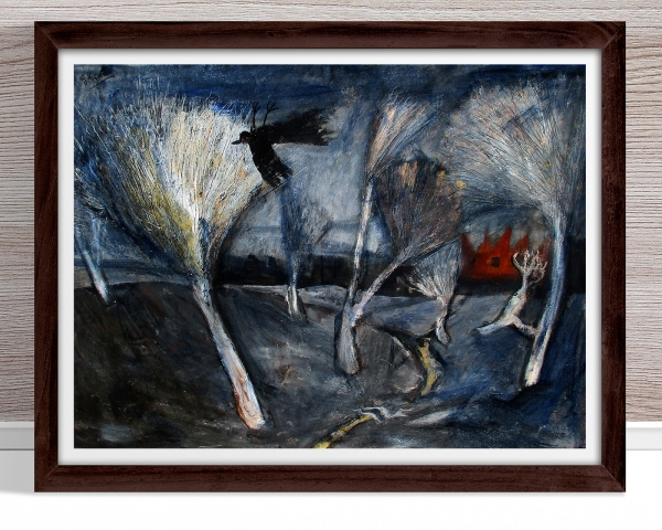 Glenn Brady - 'Bleached Landscape' Framed