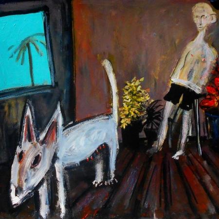 Glenn Brady - 'Bull Terrier and Man'