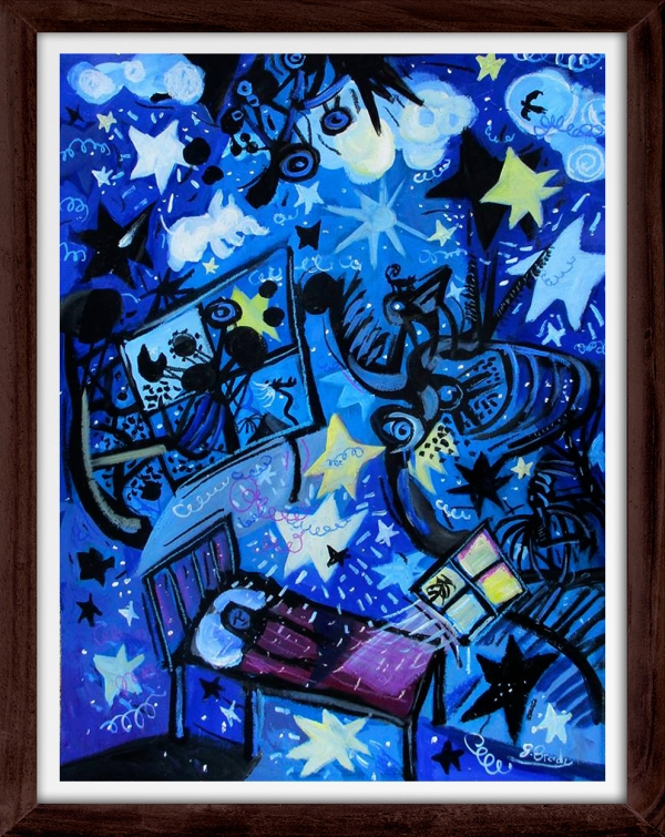 Glenn Brady - 'Child's Night Time Wonder' Framed