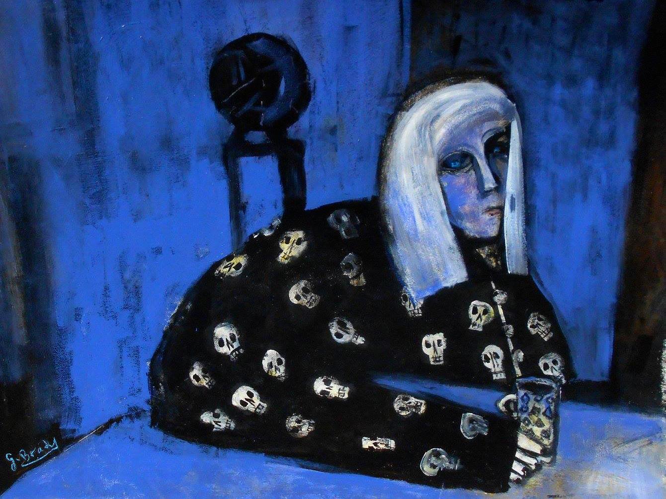 Glenn Brady - 'Colleen in Skull Pyjamas'