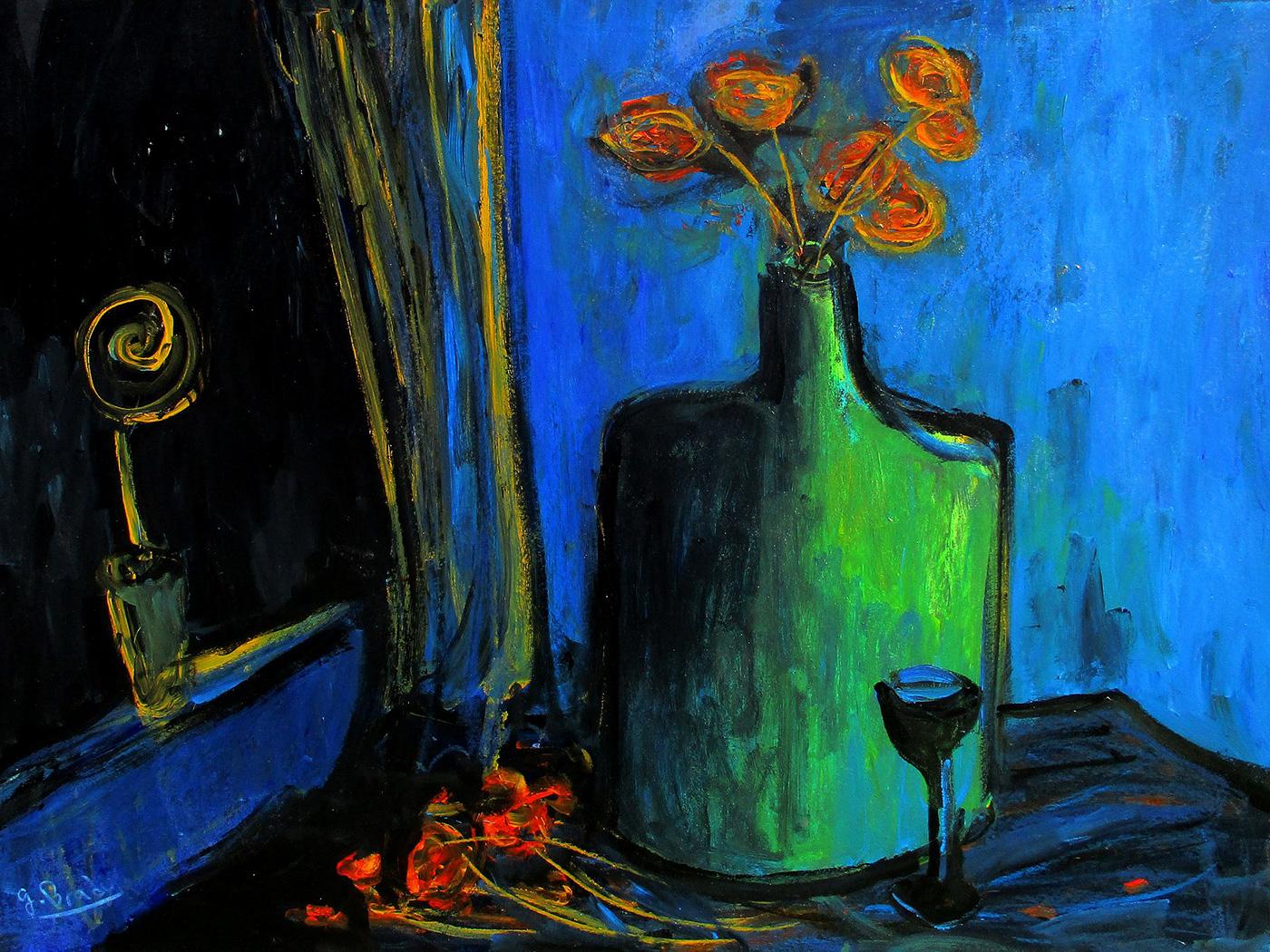 Glenn Brady - 'Flowers in a Flagon'