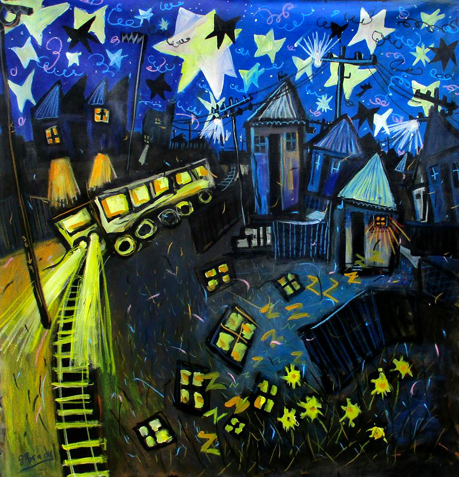 Glenn Brady - 'Hearing the Train at Night'