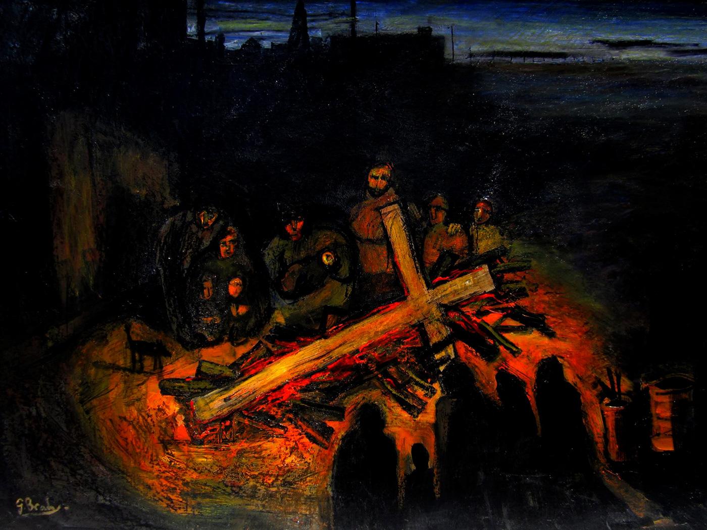 Glenn Brady - 'Homeless and Cross'