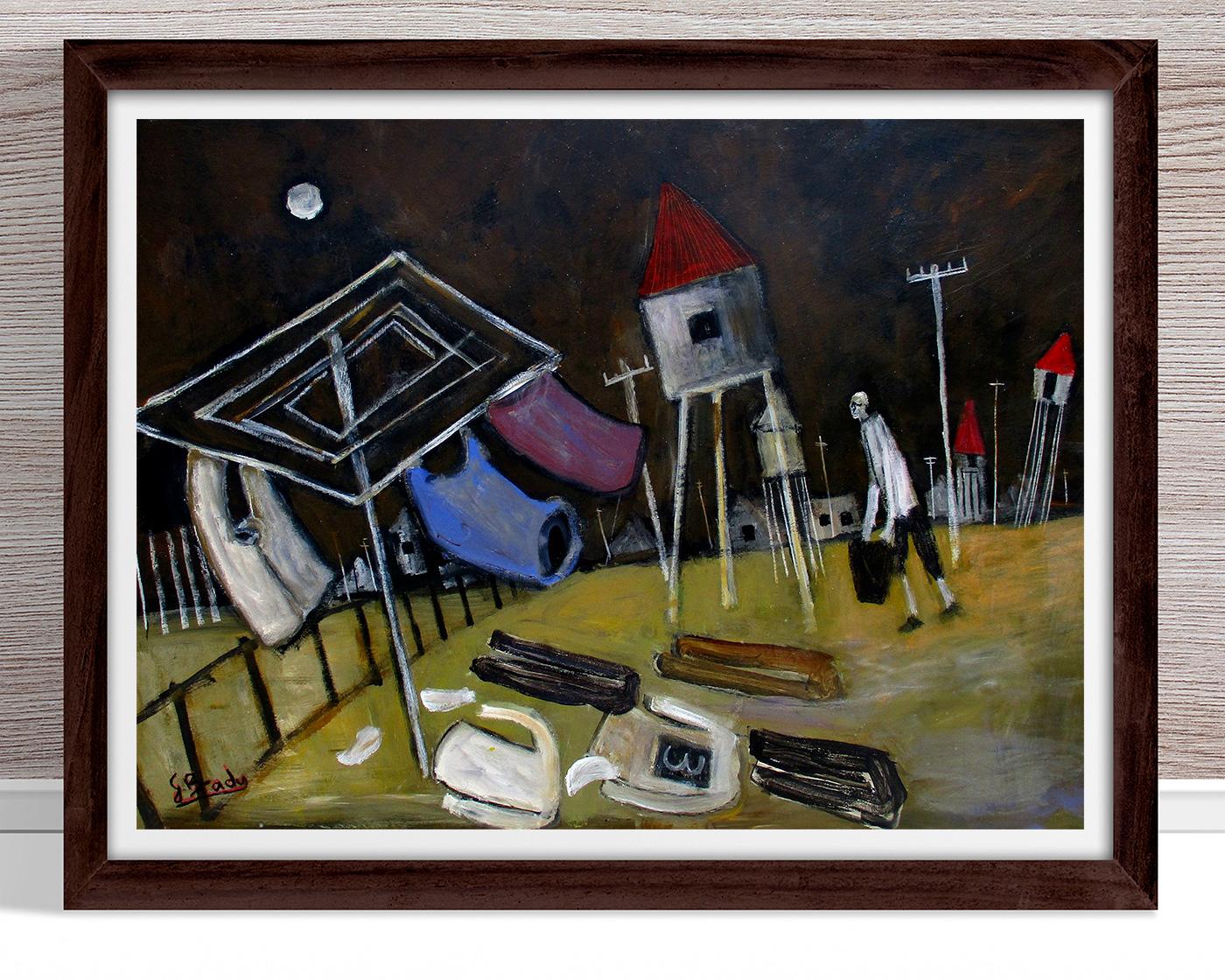 Glenn Brady - Kookaburra' Framed