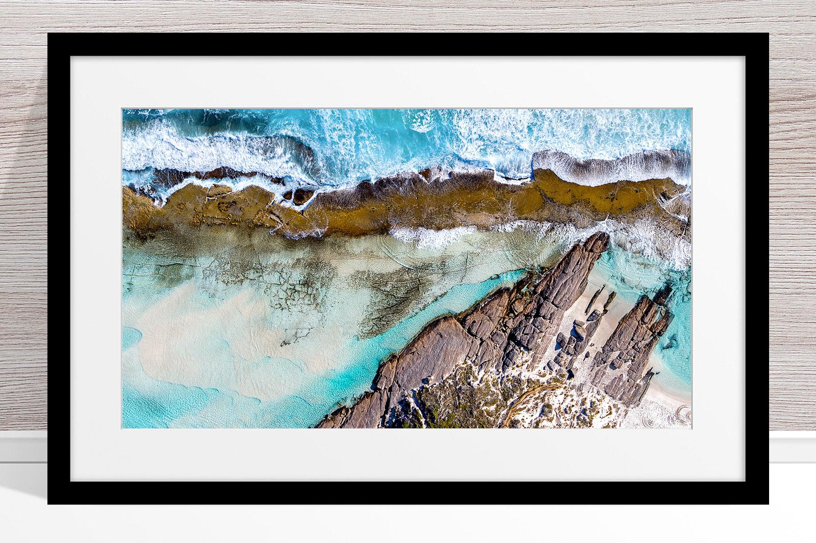 010 - Jason Mazur - '11 Mile Beach, Esperance' Black Frame