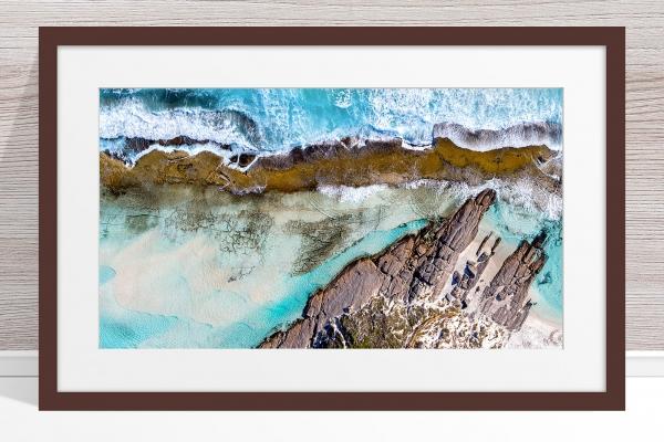010 - Jason Mazur - '11 Mile Beach, Esperance' Dark Frame