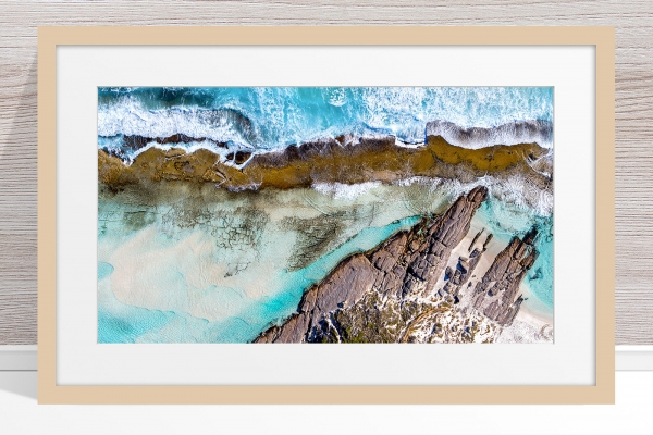 010 - Jason Mazur - '11 Mile Beach, Esperance' Light Frame